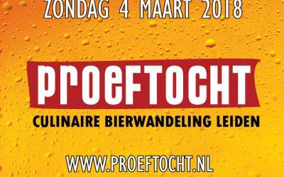 Nieuwe culinaire bierwandeling in Leiden: Dé Proeftocht!