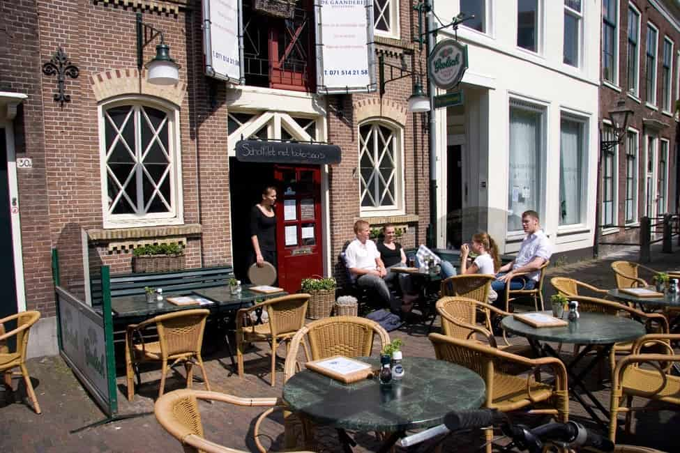Restaurants proeftocht for Restaurant faassen leiden